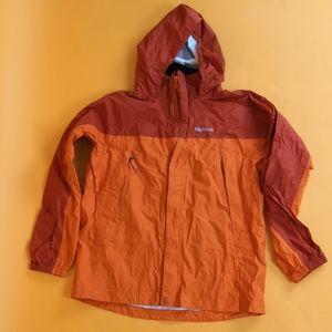 Marmot Kids Jacket waterproof sz XL orange light